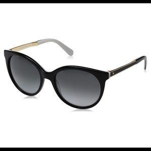 Kate Spade Amaya/S S0T F8 Retro Round Sunglasses